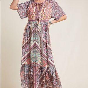 Anthropologie Kachel Dessa Tunic Dress